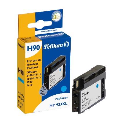 Pelikan wiederbefüllte Tinte 4109910 ersetzt HP 933 XL, cyan