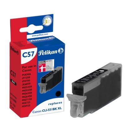 Pelikan Tinte 4110008 ersetzt Canon CLI-551BK XL, schwarz