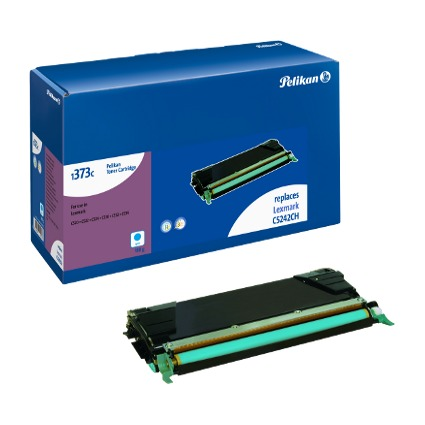 Pelikan Toner 1373 ersetzt LEXMARK C5242KCH, cyan