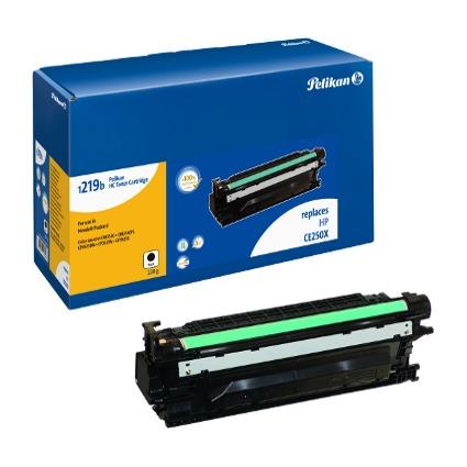 Pelikan Toner 1219 ersetzt hp CE250X, schwarz HC
