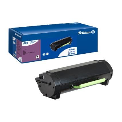 Pelikan Toner 3903TK ersetzt LEXMARK 50F2U00, schwarz