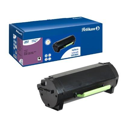 Pelikan Toner 1397 ersetzt LEXMARK 60F2X00, schwarz