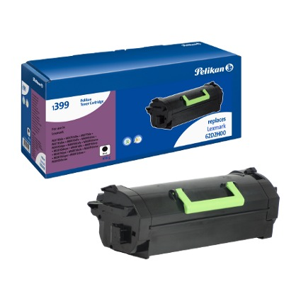Pelikan Toner 1399 ersetzt LEXMARK 62D2H00, schwarz