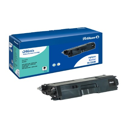 Pelikan Toner 1246HCb ersetzt brother TN-326BK, schwarz