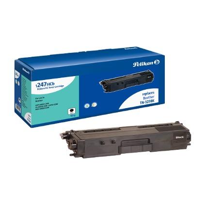 Pelikan Toner 1247HC ersetzt brother TN-329BK, schwarz