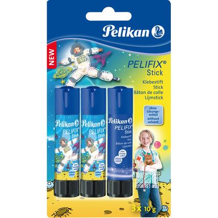 Pelikan Design-Klebestift PELIFIX, 3 x 10 g im Blister