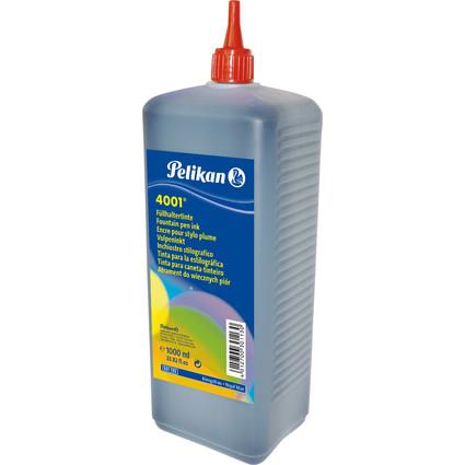 Pelikan Tinte 4001 in Kunststoff-Flasche, königsblau