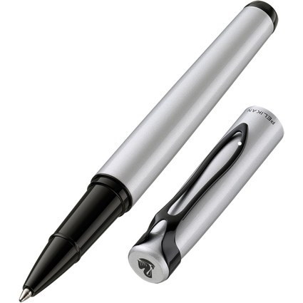 "Pelikan Tintenroller ""stola III"", silber matt"