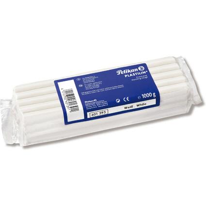 Pelikan Qualitäts-Knetmasse Plastilin, weiß