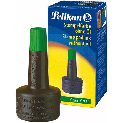 Pelikan Stempelfarbe 4K, grün, Inhalt: 28 ml