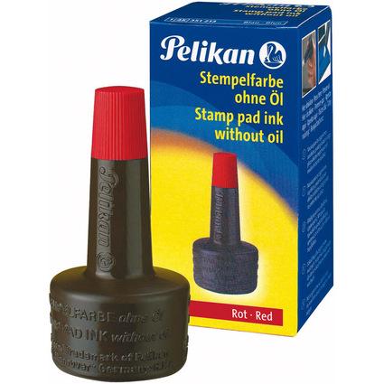 Pelikan Stempelfarbe 4K, rot, Inhalt: 28 ml
