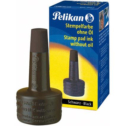 Pelikan Stempelfarbe 4K, schwarz, Inhalt: 28 ml