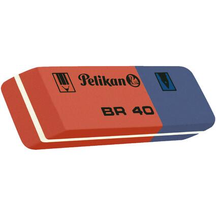 Pelikan Kautschuk-Radierer BR 40, (B)58 x (T)20 x (H)8 mm