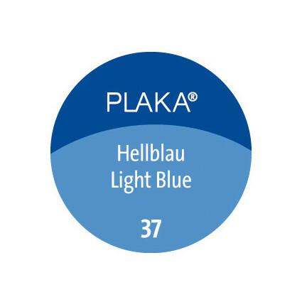 Pelikan Plaka, hellblau (Nr. 37), Inhalt: 50 ml im Glas
