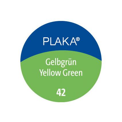 Pelikan Plaka, gelbgrün (Nr. 42), Inhalt: 50 ml im Glas