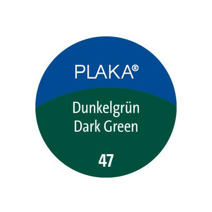 Pelikan Plaka, dunkelgrün (Nr. 47), Inhalt: 50 ml im Glas