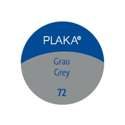Pelikan Plaka, grau (Nr. 72), Inhalt: 50 ml im Glas
