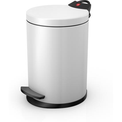 Hailo Tret-Kosmetikeimer T2.4, rund, 4 Liter, weiß