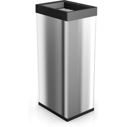 Hailo Abfalleimer Big-Box Quick XL, 52 Liter, silber