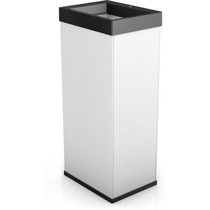 Hailo Abfalleimer Big-Box Quick 60, 60 Liter, weiß