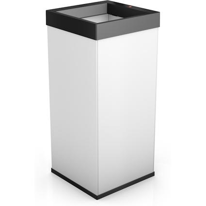 Hailo Abfalleimer Big-Box Quick XXL, 71 Liter, weiß