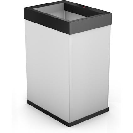 Hailo Abfalleimer Big-Box Quick 40, 40 Liter, weiß