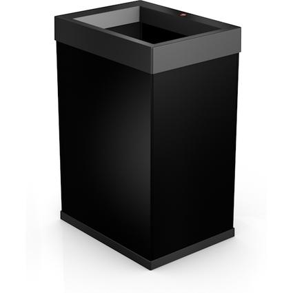 Hailo Abfalleimer Big-Box Quick 40, 40 Liter, schwarz