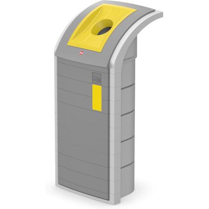 Hailo Wertstoffbehälter ProfiLine WSB 120 Separator, gelb