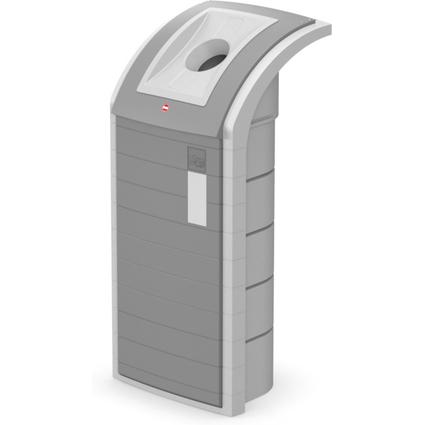 Hailo Wertstoffbehälter ProfiLine WSB-K plus Separator, grau