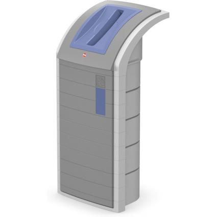 Hailo Wertstoffbehälter ProfiLine WSB 120 Separator, blau