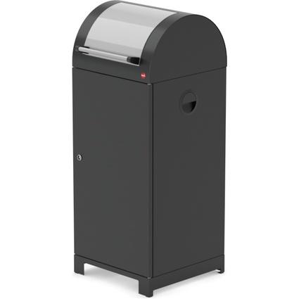 Hailo Wertstoffbehälter ProfiLine WSB 70 Security, schwarz