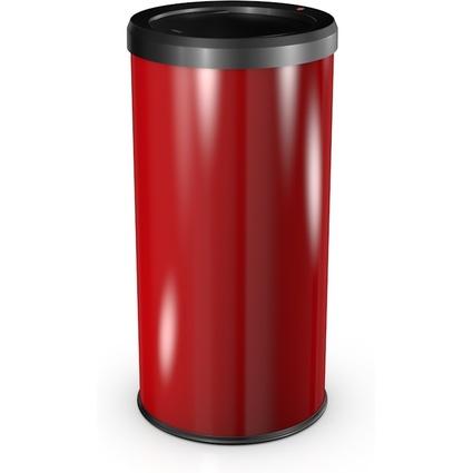 Hailo Abfalleimer BigBin Swing 45, rund, 45 Liter, rot