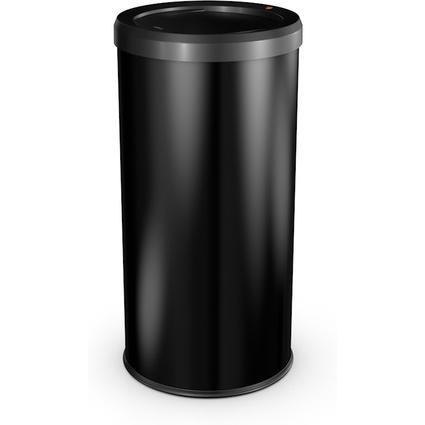 Hailo Abfalleimer BigBin Swing 45, rund, 45 Liter, schwarz