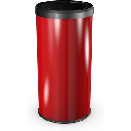 Hailo Abfalleimer BigBin Touch 45, rund, 45 Liter, rot