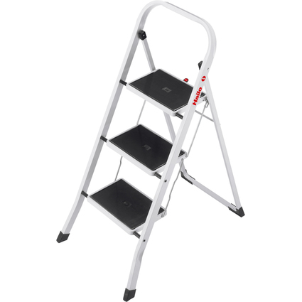 Hailo Stahl-Klapptritt K20, 3 Stufen