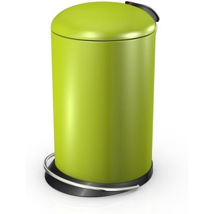Hailo Tret-Abfalleimer Hailo TOPdesign 16, 16 Liter, lemon