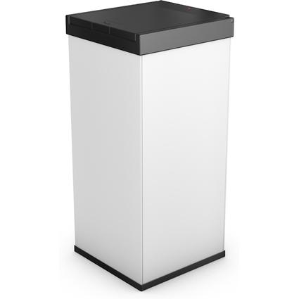 Hailo Abfalleimer Big-Box Touch 80, 80 Liter, weiß