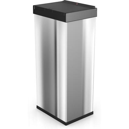 Hailo Abfalleimer Big-Box Touch 60, 60 Liter, silber