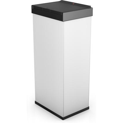 Hailo Abfalleimer Big-Box Touch 60, 60 Liter, weiß