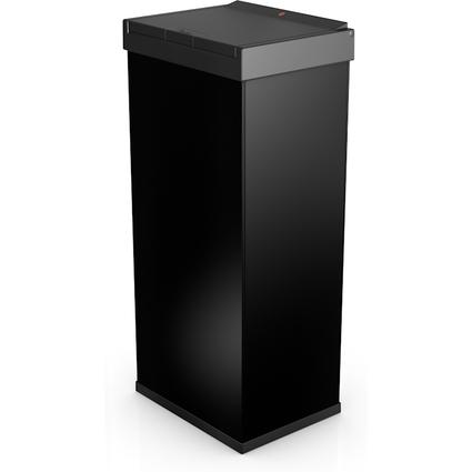 Hailo Abfalleimer Big-Box Touch 60, 60 Liter, schwarz