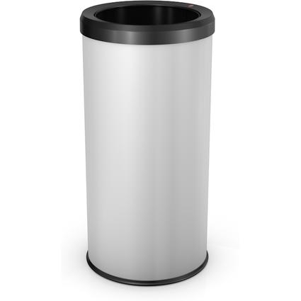 Hailo Abfalleimer BigBin Quick 45, rund, 45 Liter, weiß