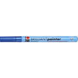 "Marabu lackmarker ""Brilliant Painter"", metallic-blau"