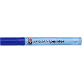 "Marabu lackmarker ""Brilliant Painter"", lapis blau"