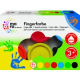 mara by Marabu Fingerfarbe, 35 ml, 6er-Set