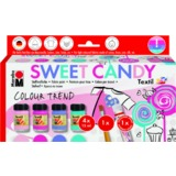 "Marabu textilfarbe ""Textil"", set SWEET CANDY"