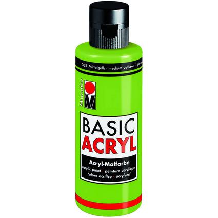 "Marabu Acrylfarbe ""BasicAcryl"", blattgrün, 80 ml"
