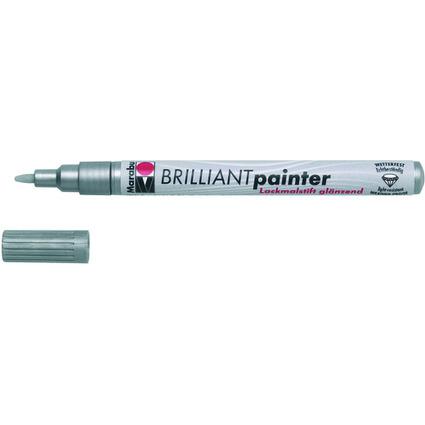 "Marabu Lackmarker ""Brilliant Painter"", silber"
