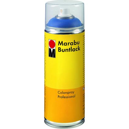 Marabu Sprühfarbe Buntlack, schwarz, 400 ml Dose