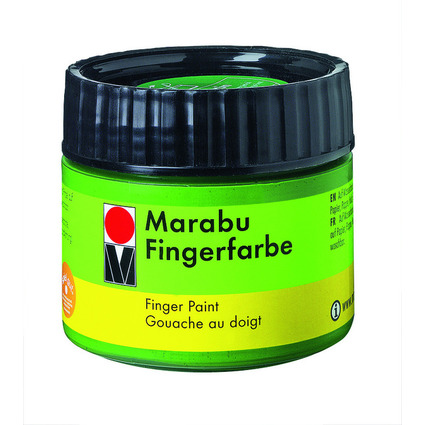 Marabu Fingerfarbe, orange, 100 ml, in Kunststoffdose