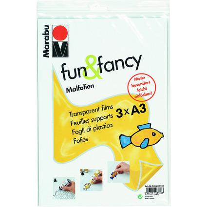 "Marabu Malfolie ""fun & fancy"", DIN A3"
